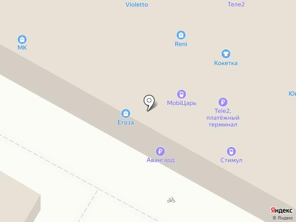 Violetto на карте Волжского