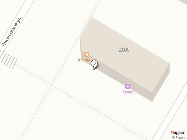 Хлебница на карте Волжского