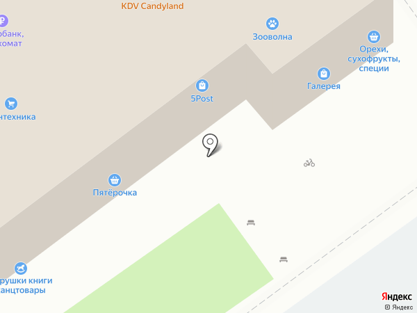 Чудный букет на карте Волжского