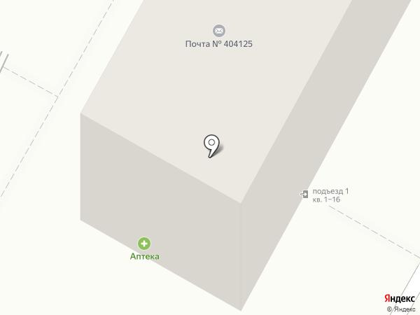 Казачка на карте Волжского