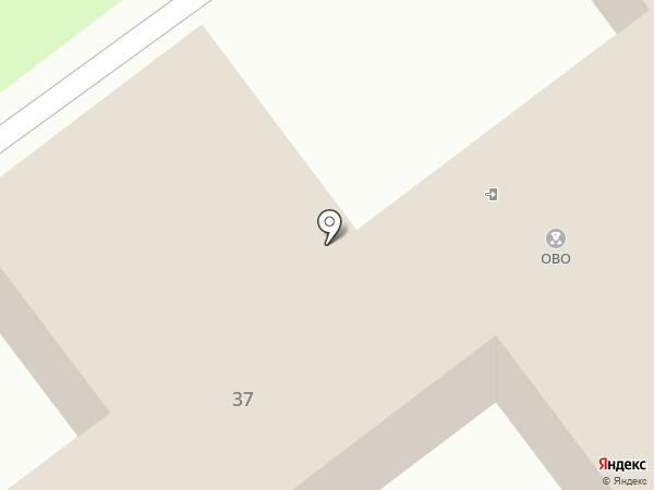 Отдел вневедомственной охраны на карте Волжского
