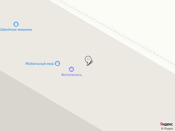 Прикид на карте Волжского