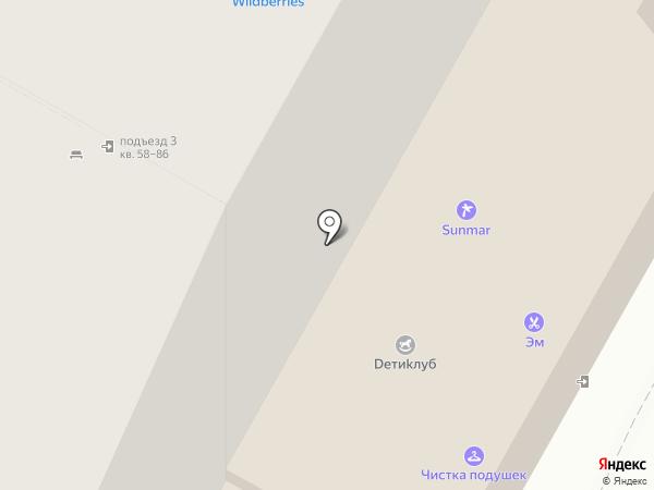 Большой город на карте Волжского