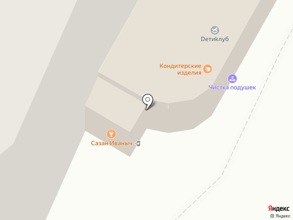Сазан Иваныч на карте Волжского