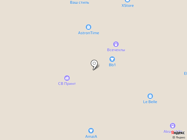 Созвездие красоты на карте Волжского