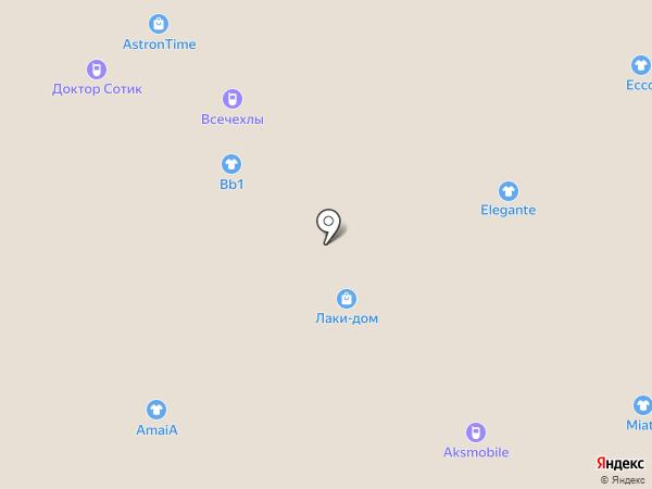 Магазин аксессуаров на карте Волжского
