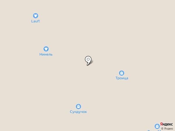 Нинель на карте Волжского