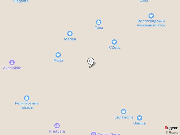 585 GOLD на карте Волжского