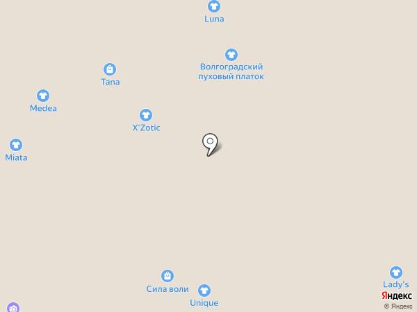 X`Zotic на карте Волжского