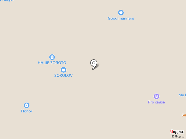 Belio.ci на карте Волжского