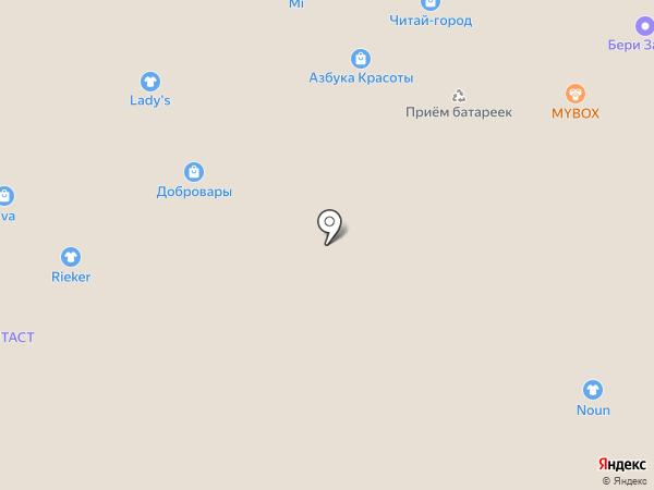 Хит-Текстиль на карте Волжского