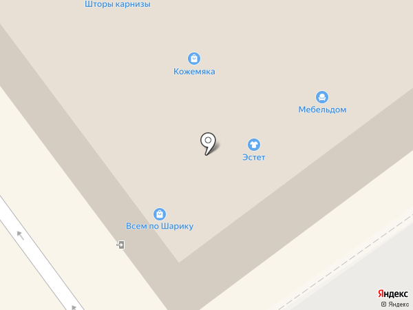Johnny Hipster на карте Волжского