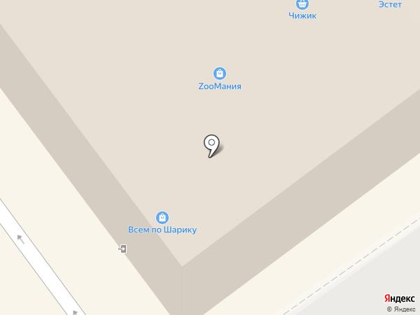 Эстрелла на карте Волжского