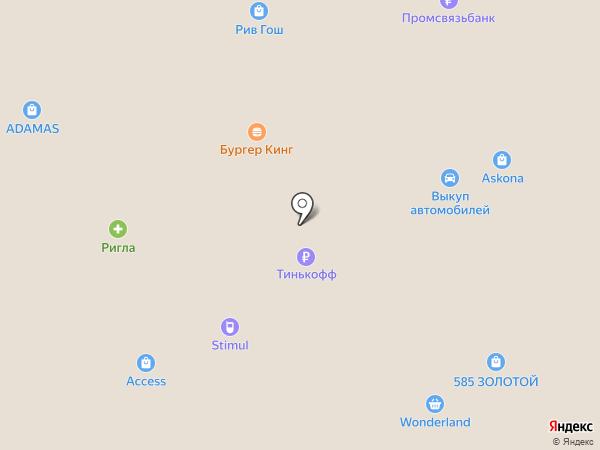 Кожемяка на карте Волжского