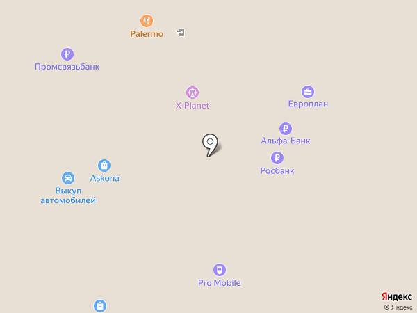 Банкомат, Промсвязьбанк, ПАО на карте Волжского