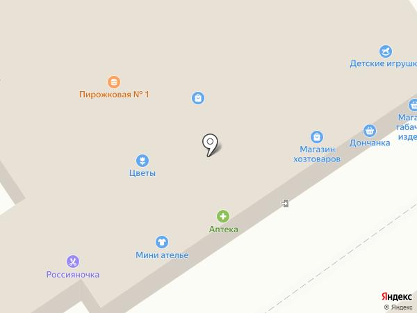 Россияночка на карте Волжского