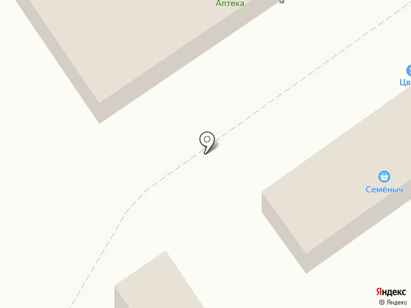 Семёныч на карте Волжского
