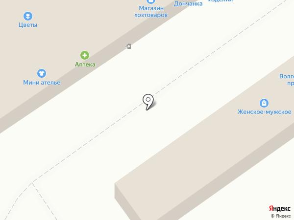 Набоечка на карте Волжского