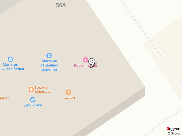 Zip на карте Волжского