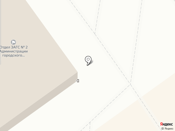 ЗАГС №2 на карте Волжского