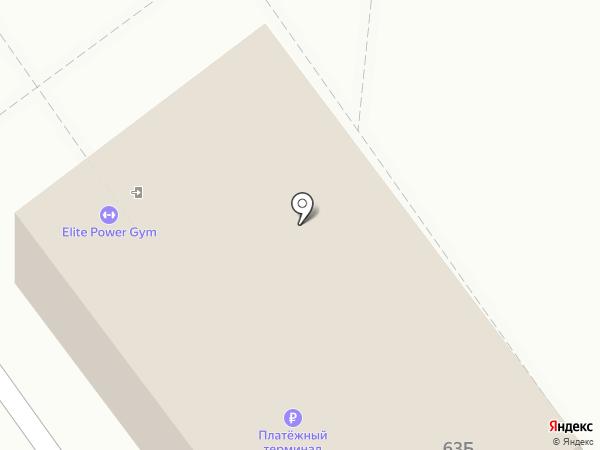 Наш маркет на карте Волжского