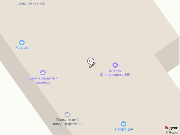 Про-Гранит на карте Волжского
