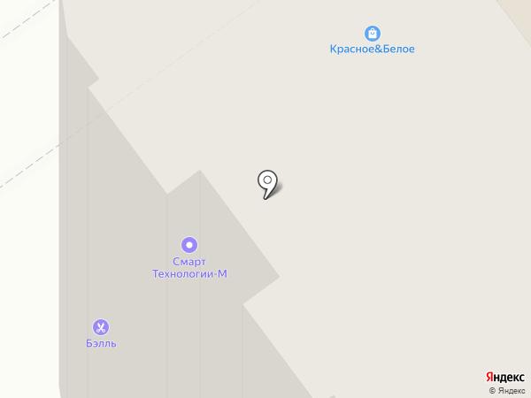 Бэлль на карте Волжского