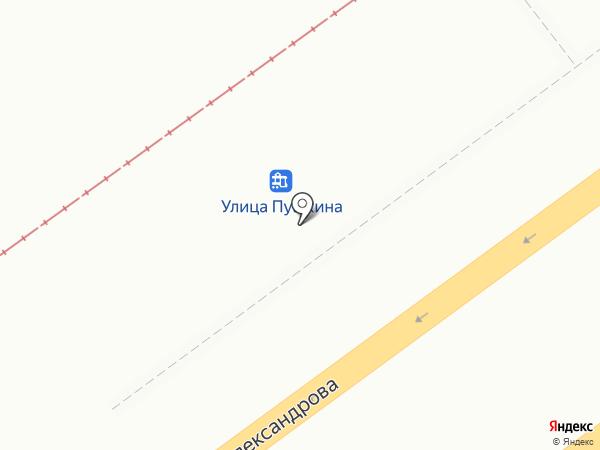 Дарьяп на карте Волжского