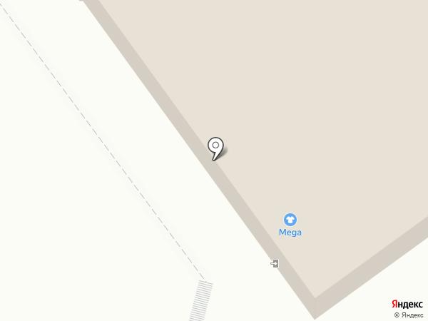 Mega на карте Волжского