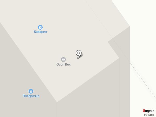 Магазин хозяйственных и электротоваров на карте Волжского