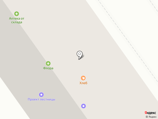 Флора на карте Волжского
