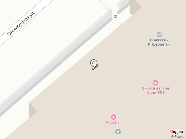 РИО на карте Волжского
