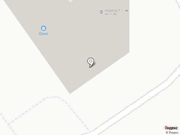 Пивной бочонок на карте Волжского