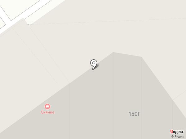 Сияние на карте Волжского