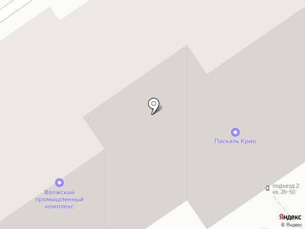 Волжский промышленный комплекс на карте Волжского