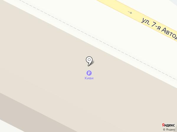 Плюс на карте Волжского