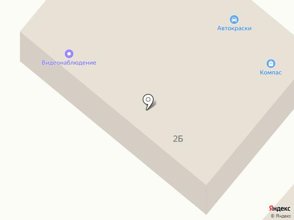 КОМПАС на карте Средней Ахтубы