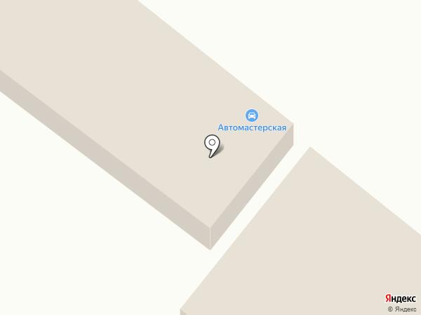 Ремонтная мастерская на карте Средней Ахтубы