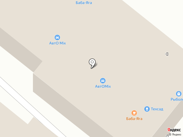 Баба Яга на карте Средней Ахтубы