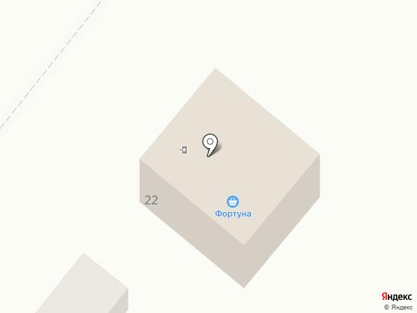 Фортуна на карте Средней Ахтубы