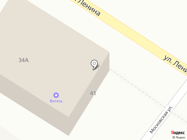 Витязь на карте Средней Ахтубы