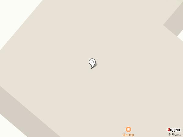 Центр на карте Средней Ахтубы