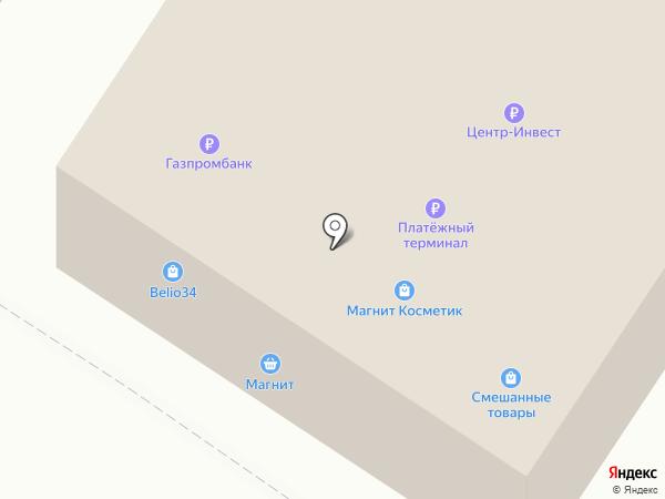 Магазин посуды и сувениров на карте Средней Ахтубы