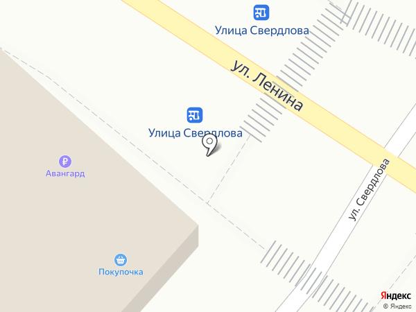 Банкомат, АКБ Авангард, ПАО на карте Средней Ахтубы