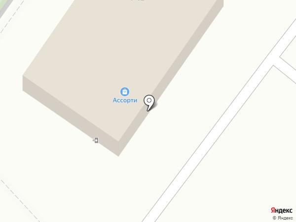 Ассорти на карте Средней Ахтубы