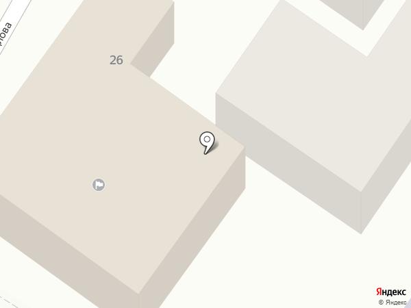 УФК на карте Средней Ахтубы
