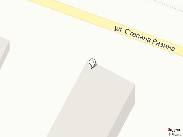 Автоколонна 966 на карте Средней Ахтубы