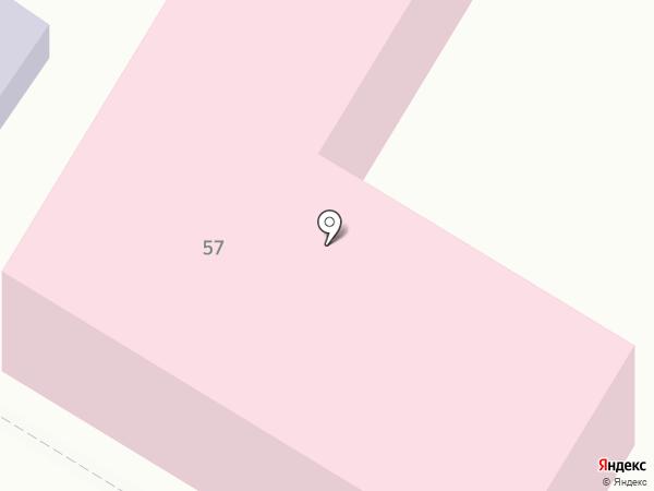 Поликлиника на карте Средней Ахтубы