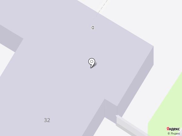 Профессиональное училище №50 на карте Средней Ахтубы
