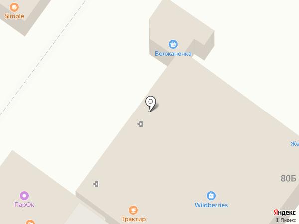 Трактир на Октябрьской на карте Средней Ахтубы